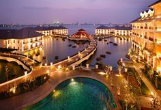 You've booked an amazing luxury villa in Vietnam's bustling capital, Hanoi; a buzzing and vibrant 1,000 year-old city where preserved ancient Vietnamese landmarks clash dramatically with modern structures. Motorcycles whizz about effortlessly through French style boulevards lined with cafes and street stalls, beautiful parks and towering skyscrapers. This city is the pearl of North Vietnam,... Read More
