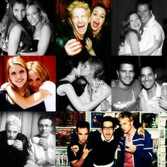 Buffy cast - love. It's weird seeing 'Angel' and 'Xander' acting friendly. hahah