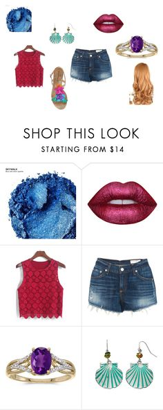 """Butterfly Girl"" by donutsanddandellions on Polyvore featuring Urban Decay, Lime Crime, rag & bone, BillyTheTree, Croft & Barrow and Sophia Webster"