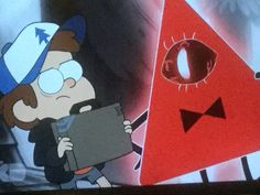 I was watching gravity falls and had to pause it to get a snack when this happened......