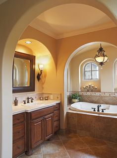 Mediterranean Home Bathroom Vanities Design, Pictures, Remodel, Decor and Ideas - page 3