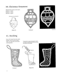 100 New Bbbin Lace Patterns Crochet Angels, Irish Crochet, Bobbin Lace Patterns, Lacemaking, Needle Lace, Xmas, Christmas Ornaments, Simple Art, Easy Art