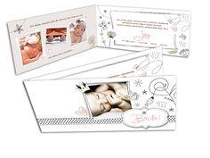Geburtsanzeigen - Sternchen und Blümchen Designer, Polaroid Film, Beautiful, Pictures, Invitations