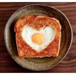 breakfast for your little valentines :)  toss some halved strawberries on for red hearts, make 'em smile :)