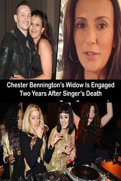 Chester Bennington's widow, Talinda Bennington, has announced that she is engaged to be married, two years on from his heartbreaking suicide. Pinterest For Men, Pinterest Hair, Wedding Pinterest, Talinda Bennington, Engagement Quotes, Engaged To Be Married, Maya Ali, 9th October, Baby Dress Design