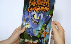 Flip Through - Fantasy Cartooning by Ben Caldwell Perspective Drawing, Figure Drawing, Art Education, Storytelling, Book Art, Concept Art, Character Design, Fantasy, Cartoon