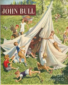 John Bull Uk Holidays Tents by The Advertising Archives June Colors, Advertising Archives, Uk Holidays, Pulp, Spring Landscape, Winter Scenery, Tent Camping, Camping Hacks, Original Image