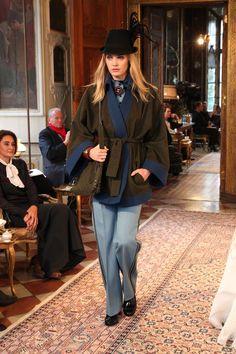 Chanel Pre-Fall 2015 Collection in Austria,Salzburg HarpersBAZAAR.com Model: Heidi Mount
