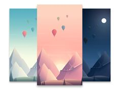Three more commissioned illustrations for another section of the Better Company app.  The app recently launched, check it out here!   View the real pixels