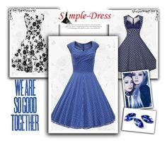 """""""21. Simple-Dress"""" by malasirena989 ❤ liked on Polyvore featuring vintage"""