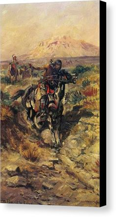 faf8a41b27f Reproduction Russell Charles Marion The Scouting Party painting made by  Charles Marion Russell