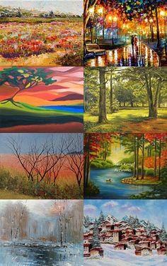 Landscapes from all over the world by Marika Szabó on Etsy--Pinned with TreasuryPin.com