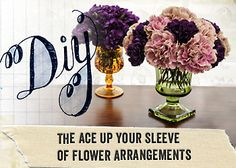 DIY: Flower Arrangement