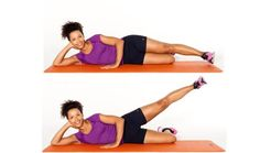 Try outer thigh lifts for great summer legs
