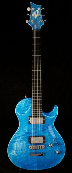 Vigier G.V.Wood Stonewash Blue (World Guitars, UK)