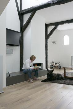 Maas Architecten » verbouwing exterieur en interieur voormalige boerderij laren