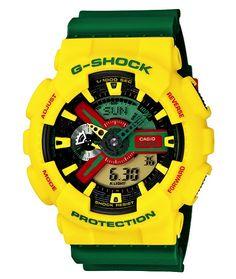 G-Shock Rastafarian