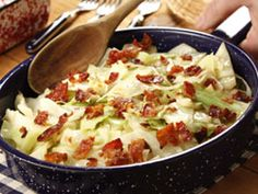 How can I make cabbage as unhealthy as possible? Cook it in bacon fat and add butter.....count me in.