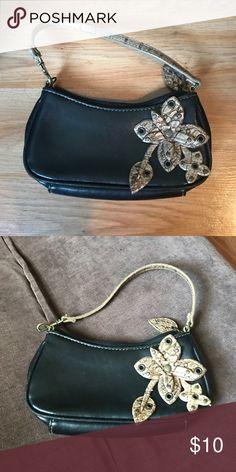 ❤️👛 Small purse 🌸❤️ Cute, black, very small! Bags Mini Bags