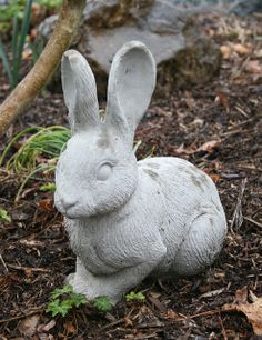 Cement rabbit