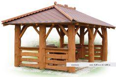 Altana drewniana z bala , altanka ogrodowa !!!!