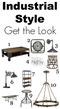 Get the Look: Industrial Chic Home Style - Lighting & Interior Design Ideas Blog - Community - LampsPlus.com - Information Center