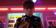 Zico blowing a kiss at I Am You You Are Me MV - Block B K-Pop gif