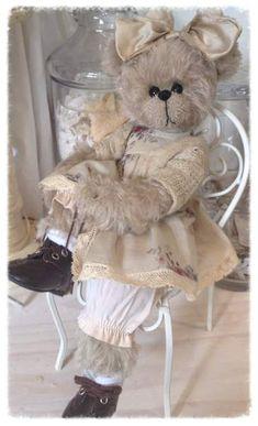 ❤.... Oso Teddy, My Teddy Bear, Cute Teddy Bears, Bear Toy, Love Bear, Big Bear, Teddy Beer, Country Bears, Teddy Bear Clothes