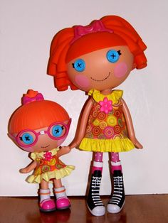 "Lalaloopsy 12"" & 8"" Littles Doll Matching Dresses Sewing Pattern (eBay item 261142099509 end time 13-Mar-13 14:28:14 AEDST) : Dolls Bears"