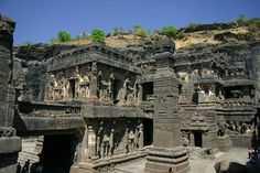 #ElloraCaves is the world famous and well known caves are 120 kms from #Shirdi. These caves are listed as the #WorldHeritageSite.