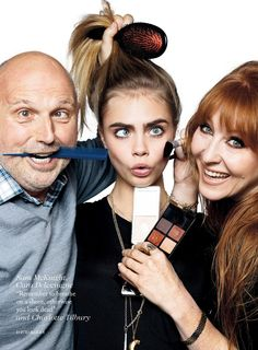 Sam McKnight and Charlotte Tilbury are awesome. Cara Delevingne by David Bailey for Vogue UK July Cara Delevingne, David Bailey Photography, Goodbye Baby, Burberry, Sam Mcknight, Vogue Uk, Victoria Secret Angels, The Chic, Hairdresser