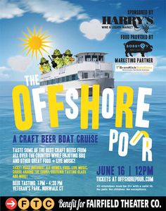 Offshore Pour:  Craft Beer and BBQ Cruise Around Long Island Sound - Norwalk, CT