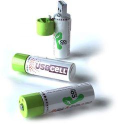 Батарейки, заряжающиеся через USB-разъем