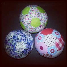 Patchwork balls