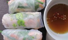 Felicity Cloake: The Guardian perfect vietnamese summer rolls Healthy Eating Recipes, Healthy Foods To Eat, Raw Food Recipes, Cooking Recipes, Savoury Recipes, Snacks Recipes, Easy Snacks, Cooking Time, Vegan Food