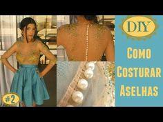 Vestido de Festa Turquesa - Costurando Aselhas em Tule - YouTube