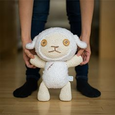 "Make Cotton, the sweet cherished stuffie from the movie ""Oblivion Island"".  Free pattern and step-by-step post with detailed pics available!"