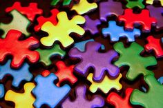 Autism Awareness Cookies