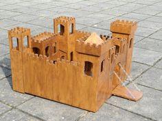 Castillo - Por Gerben@LumberJocks.com ~ comunidad párr Trabajar la madera