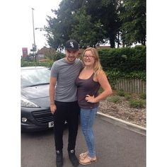 Liam in Surrey, UK yesterday! ~ Lala ♡