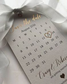 """1,433 Likes, 76 Comments - @down.the.aisle on Instagram: """"Obsessed with these Rose Gold Save the Date Tags by @SilkBeau  #savethedate #savethedates…"""""""