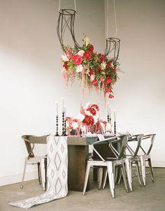 Modern floral workshop