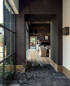 y idea of heaven Residential Interior Design, Home Interior Design, Interior Architecture, Interior And Exterior, Interior Decorating, Exterior Design, Weekend House, Dark Interiors, My Dream Home