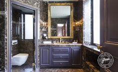 Master bathroom at Quai Royal, apartment for rent in Paris, Marais