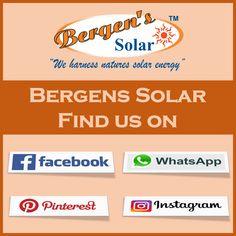 Solar Geyser, Solar Companies, Solar Installation, Find Us On Facebook, Heated Pool, Bergen, Solar Energy, Social Media, Quotes