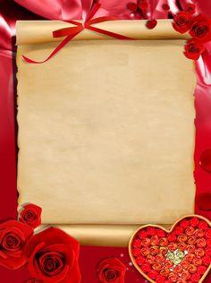 Blindada por Deus: Pergaminho Frame Background, Textured Background, Background Images, Valentine Heart Images, Pink Music, Minnie Png, Certificate Design, Bday Cards, Frame Clipart