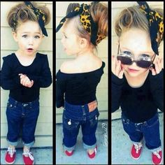 Toddler style...this is beyond adorable