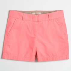 """J.Crew Factory 5"""" chino short ($20) ❤ liked on Polyvore featuring shorts, j. crew shorts, short shorts, chino shorts, short chino shorts and zipper shorts"""