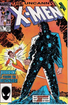 Uncanny XMen 1963 1st Series 203 March 1986 Issue by ViewObscura, $4.00