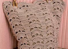 Crochet Bag Pattern | Leafy Bag -free download